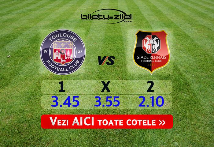 Toulouse - Rennes ponturi pariuri 29.02.2020
