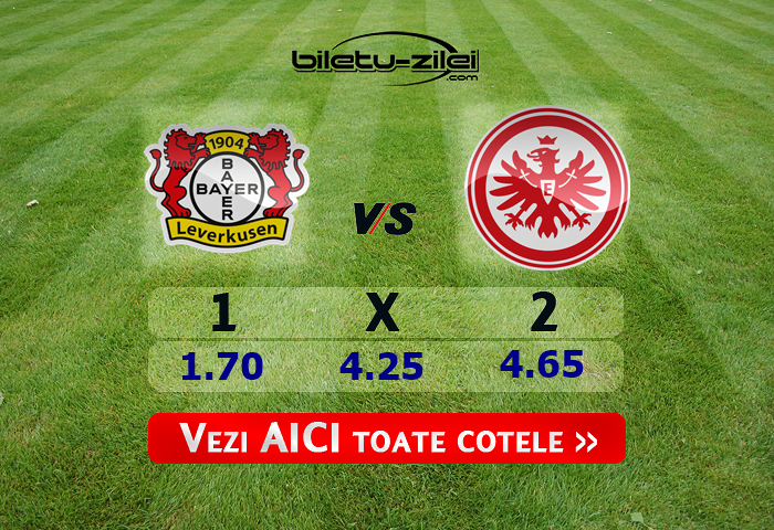 Bayer Leverkusen – Frankfurt ponturi pariuri 07.03.2020
