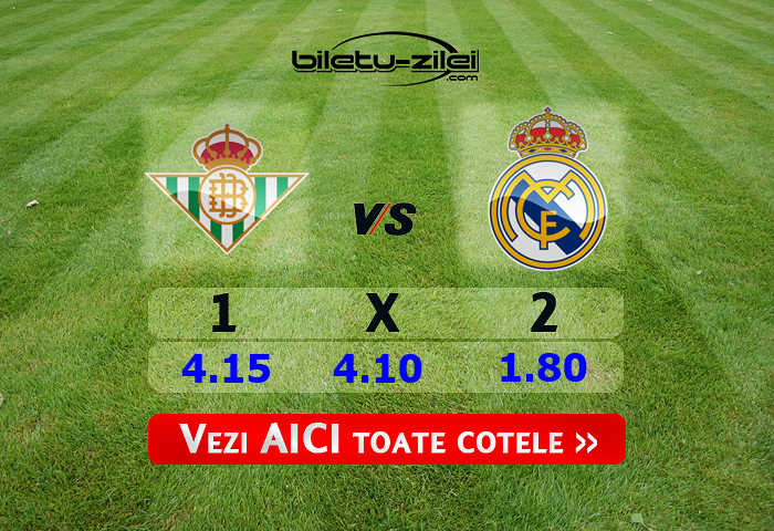 Betis - Real Madrid ponturi pariuri 08.03.2020