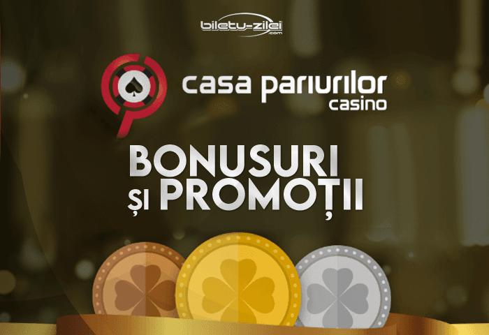 Casa Pariurilor Casino bonusuri și promoții