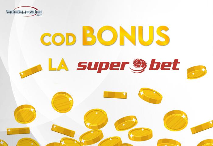 Cod bonus Superbet