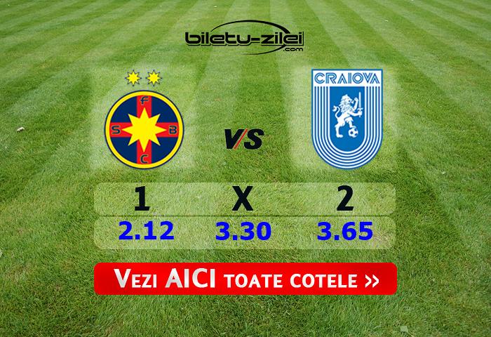 FCSB - U Craiova ponturi pariuri 08.03.2020