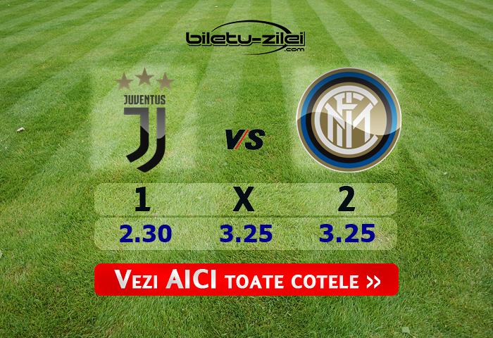 Juventus – Inter ponturi pariuri 08.03.2020