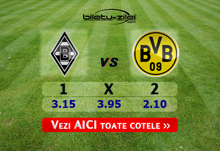 Monchengladbach – Dortmund ponturi pariuri 07.03.2020