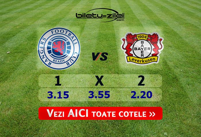 Rangers – Bayer Leverkusen ponturi pariuri 12.03.2020