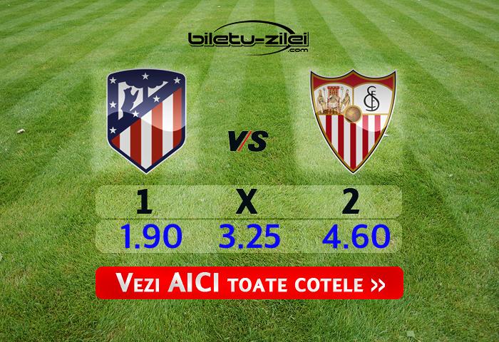 Atletico Madrid - Sevilla ponturi pariuri 07.03.2020