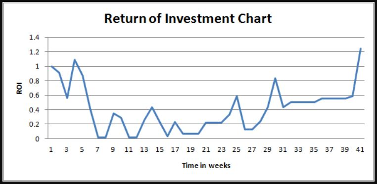 return of investment chart