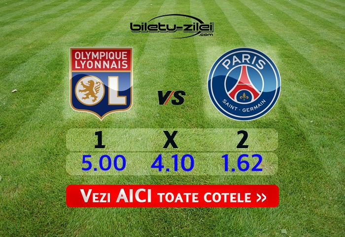 Lyon - PSG ponturi pariuri 04.03.2020