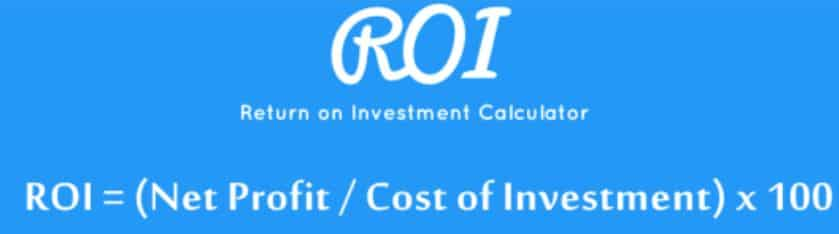 formula ROI