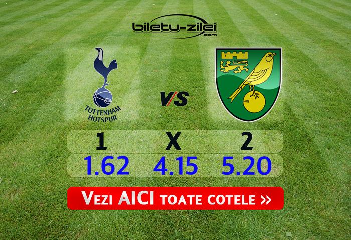 Tottenham - Norwich ponturi pariuri 04.03.2020