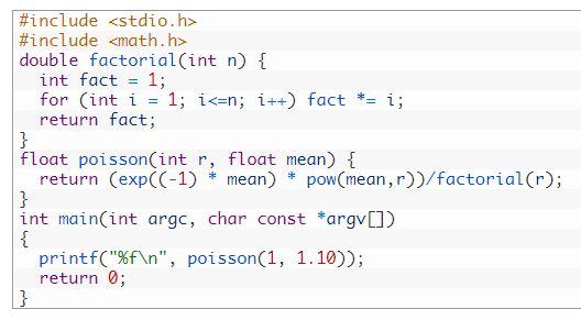 algoritm Poisson