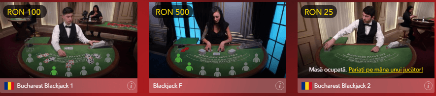Winmasters Casino Blackjack Live