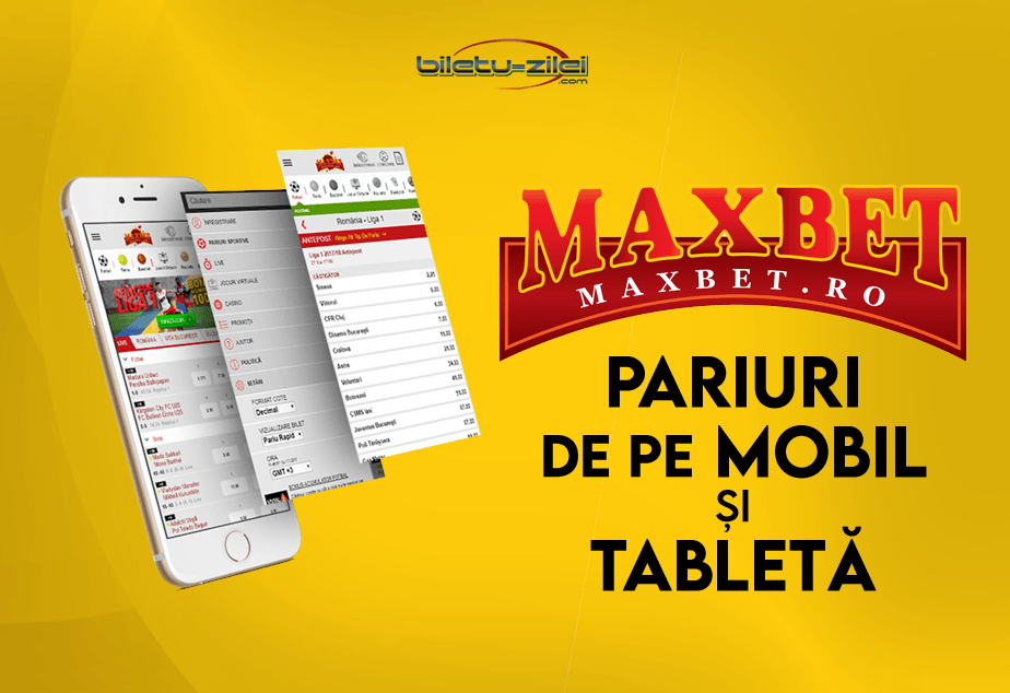 Maxbet Pariuri De Pe Mobil și Tabletă