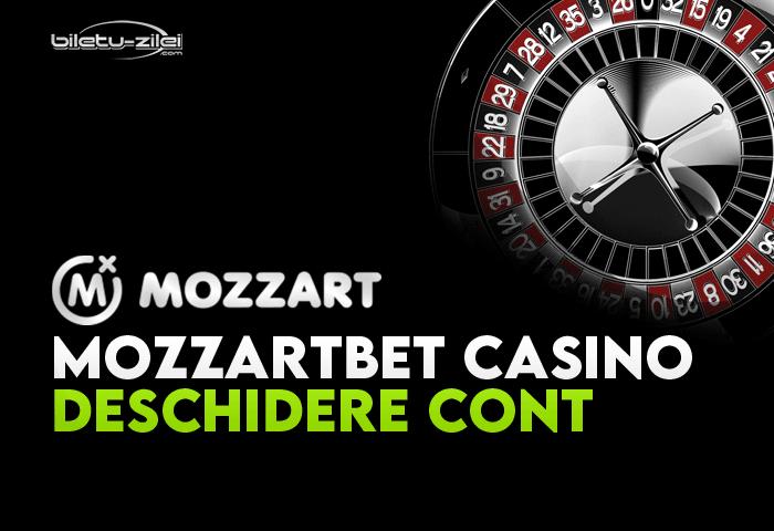 mozzartbet casino deschidere cont