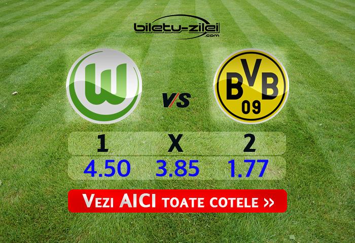 Wolfsburg Dortmund Ponturi Pariuri 23.05.2020