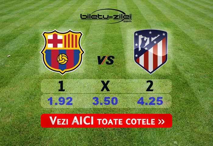Barcelona Atletico Madrid Cote Pariuri 30062020