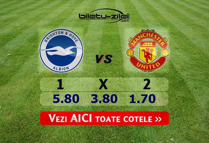 Brighton Manchester United Cote Pariuri 30062020