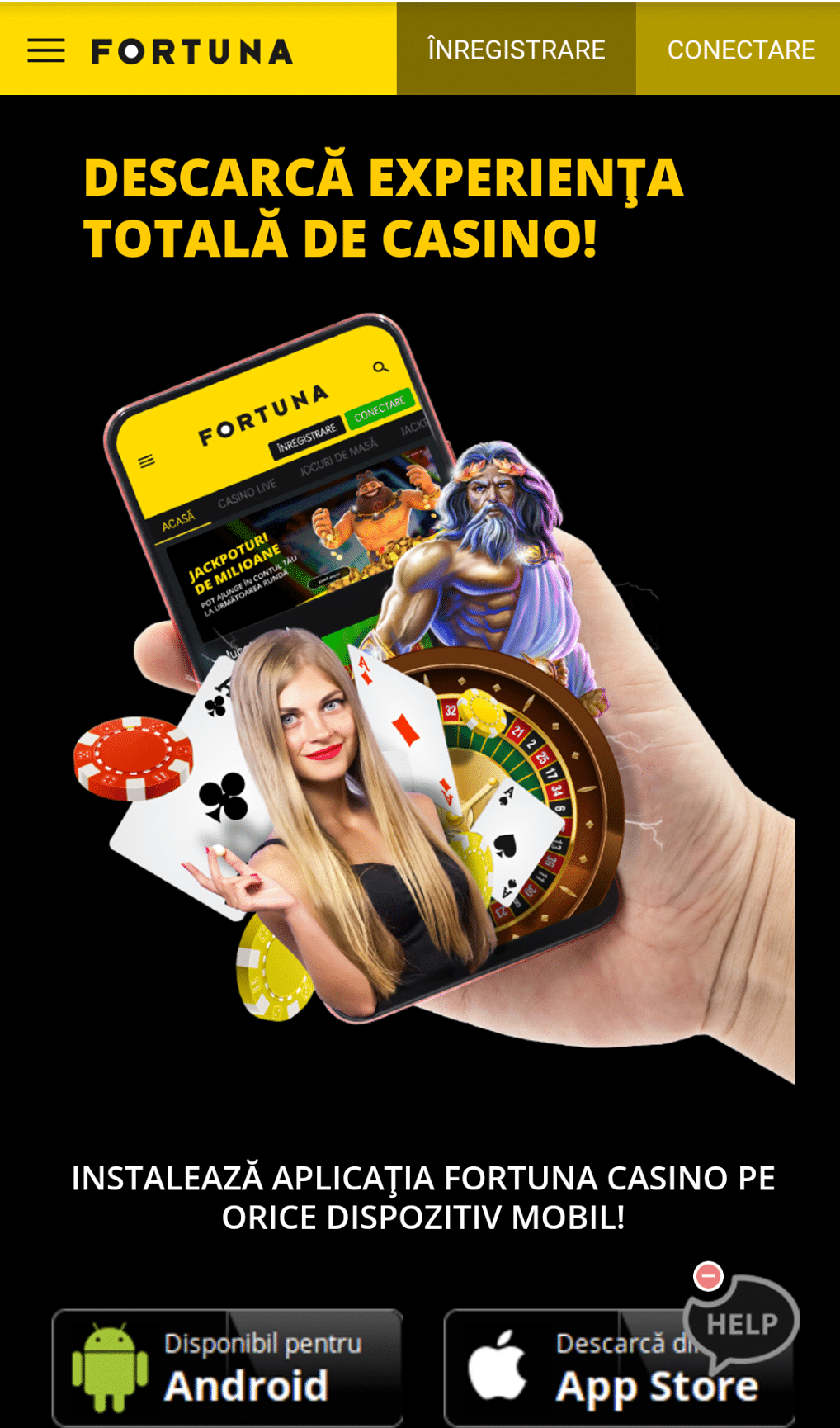 Fortuna Casino Android App