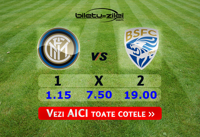 Inter Brescia predictii pariuri