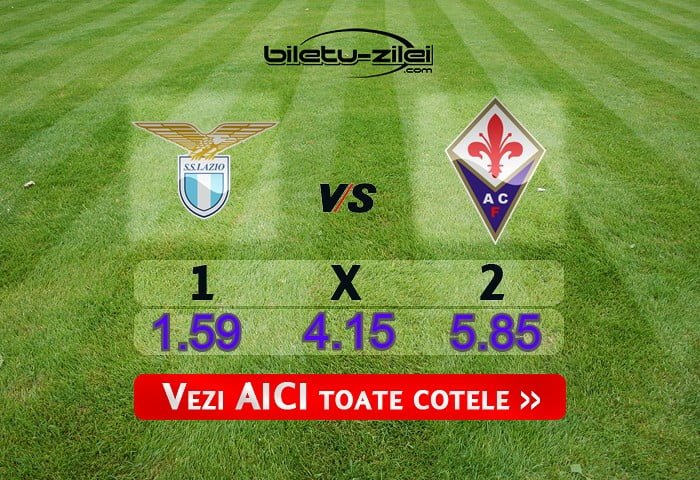 Lazio Fiorentina Cote Pariuri 27062020