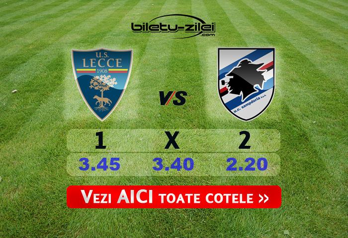 Lecce Sampdoria Cote Pariuri 01072020