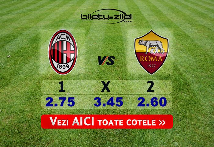 Milan Roma Cote Pariuri 28062020