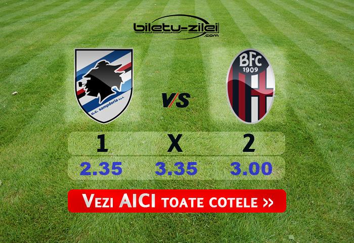 Sampdoria Bologna Cote Pariuri 28062020