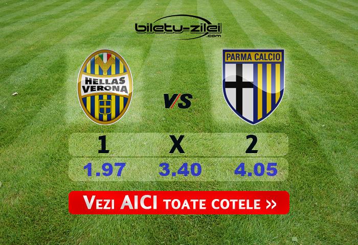 Verona Parma Cote Pariuri 01072020