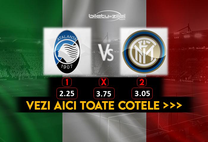 Atalanta Inter Cote Pariuri 01082020