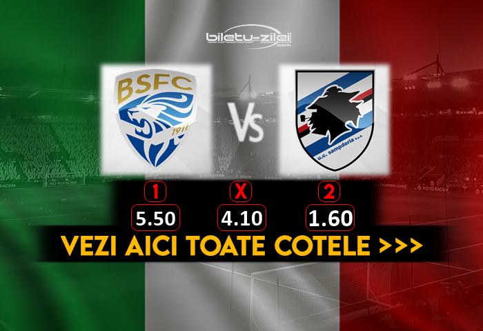 Brescia Sampdoria Cote Pariuri 01082020