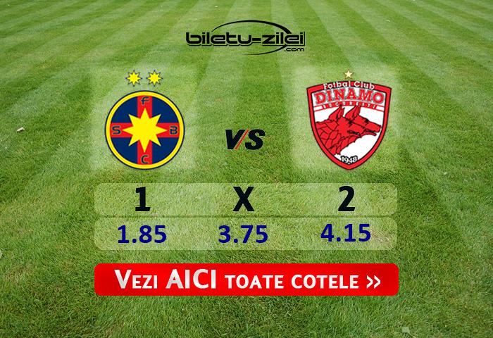 Fcsb Dinamo Cote Pariuri 08072020