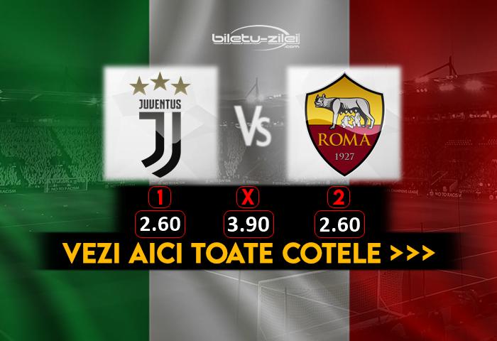 Juventus Roma Cote Pariuri 01082020