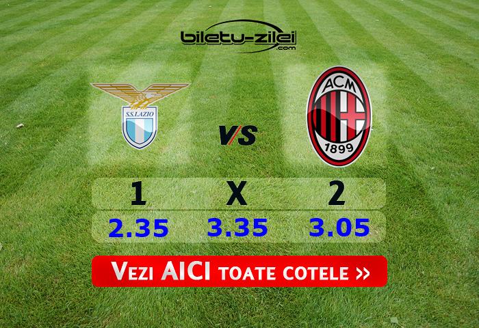 Lazio Milan Predictii la pariuri