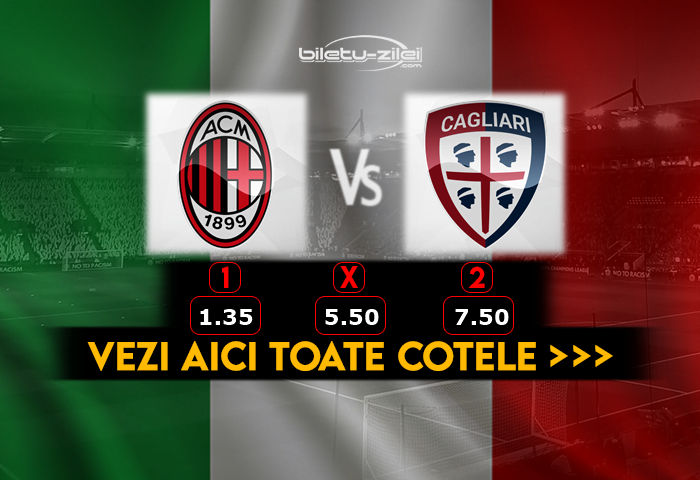 Milan Cagliari pronosticuri fotbal