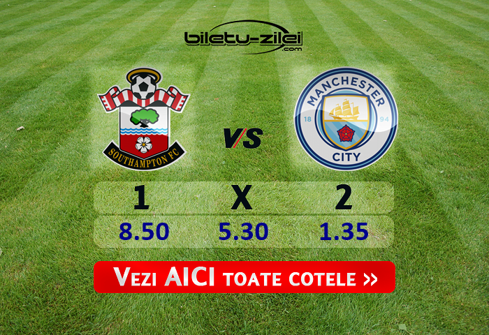 Southampton Manchester City Cote Pariuri 05072020