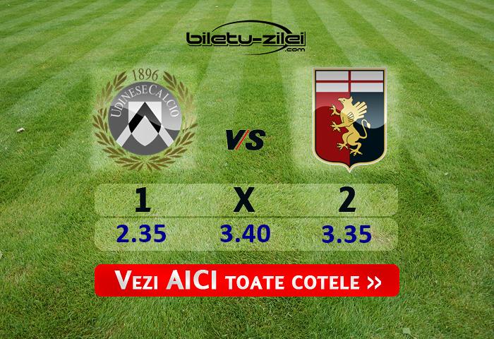 Udinese Genoa Cote Pariuri 05072020