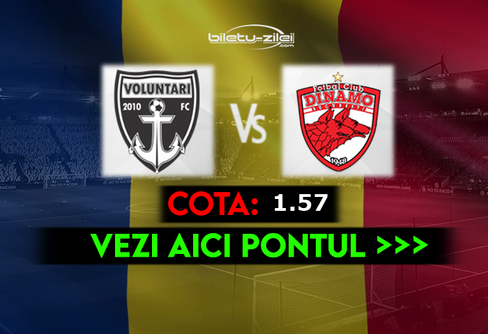 Ponturi pariuri - FC Voluntari vs Dinamo - Liga 1 ...  |Dinamo București-voluntari