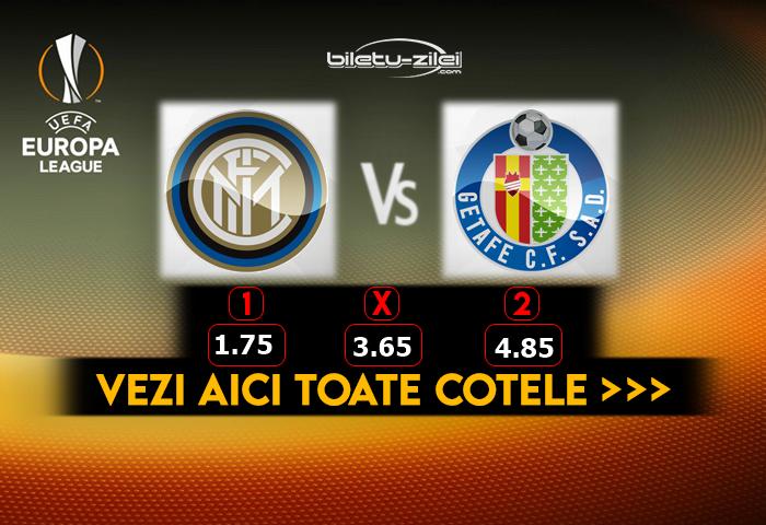 Inter Getafe predictii fotbal
