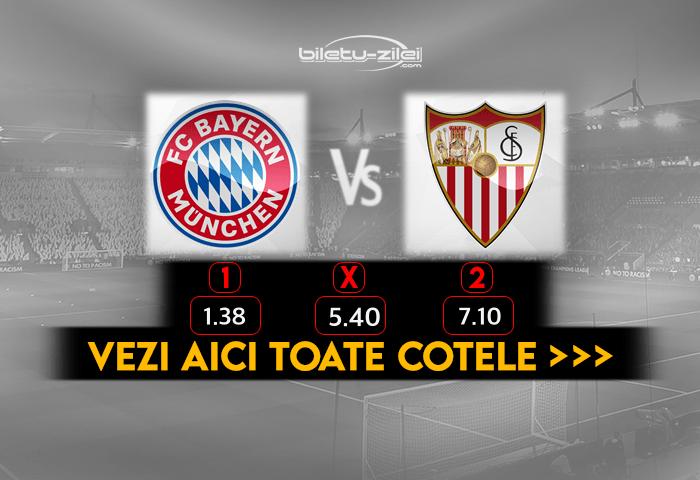 Bayern Sevilla Cote Pariuri 24.09.2020