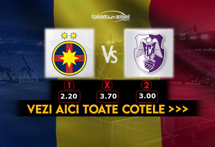 Primul punct în Liga I! - FC Arges |Fcsb- Fc Arges