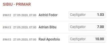 Sibiu Alegeri Locale 2020