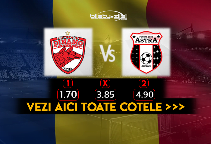 Dinamo Astra Cote Pariuri 30102020