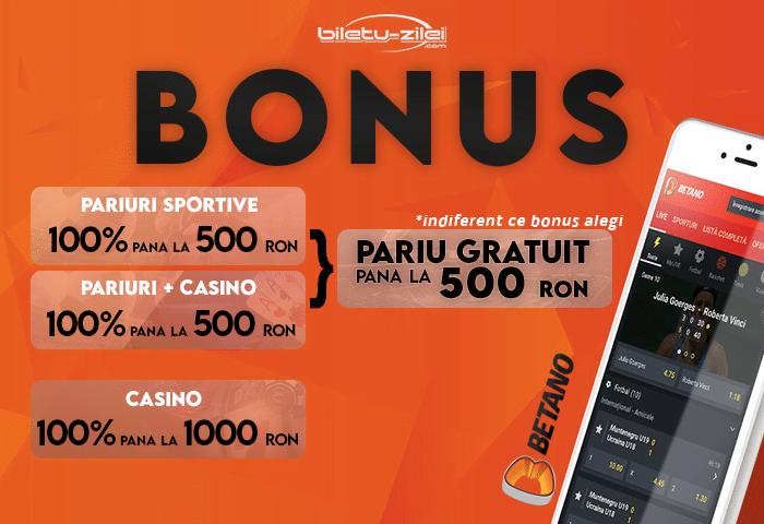 Bonus Betano Octombrie 2020
