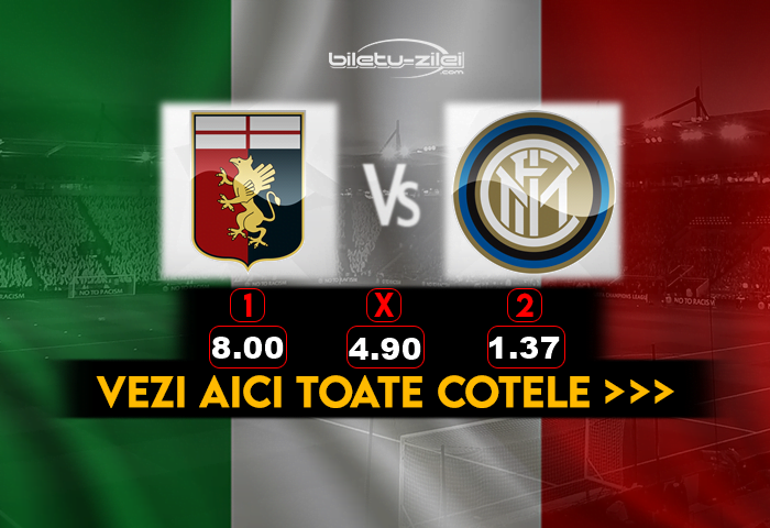 Genoa Inter Cote Pariuri