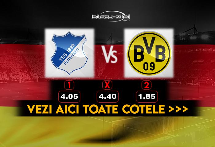 Hoffenheim Dortmund Cote Pariuri