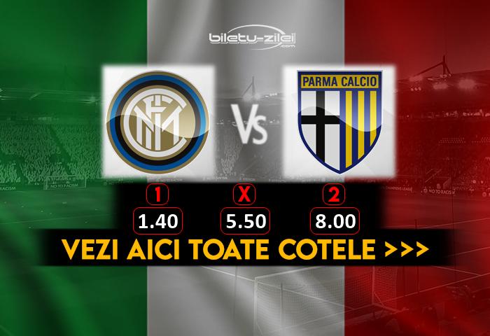 Inter Parma Cote Pariuri 31102020
