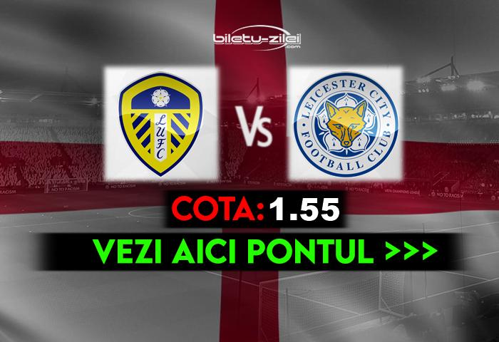 Leeds – Leicester ponturi pariuri 02.11.2020