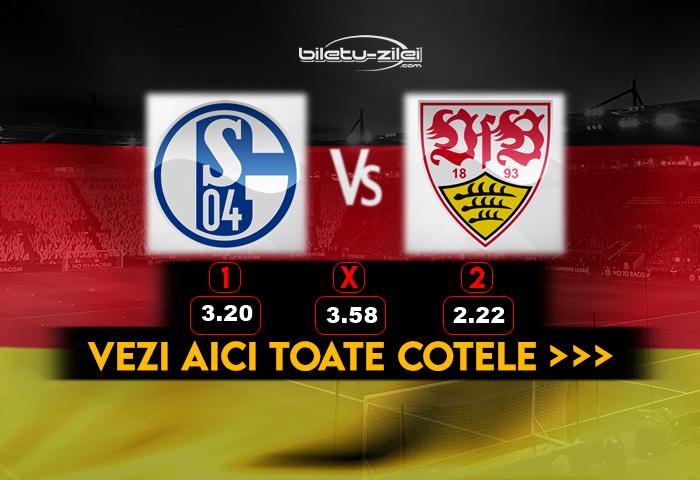 Schalke Stuttgart ponturi pariuri
