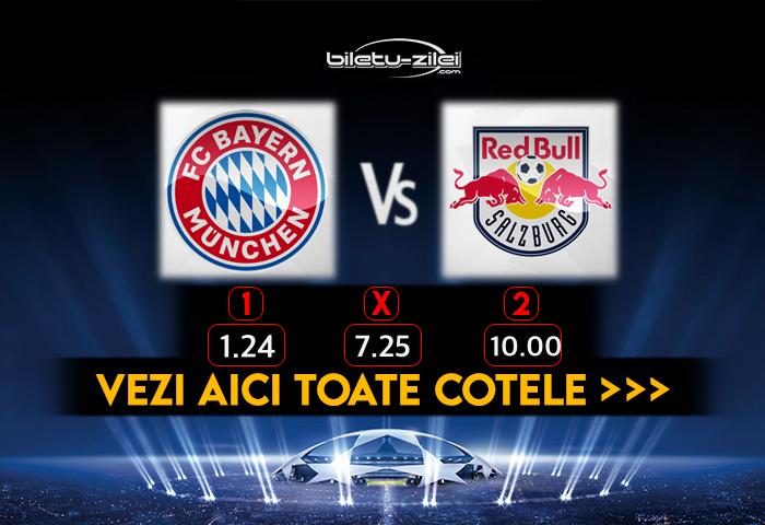 Bayern Salzburg Cote Pariuri 25112020