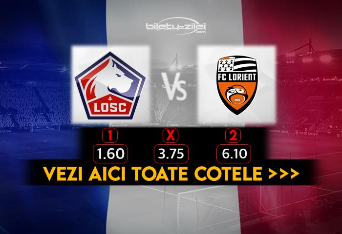 Lille Lorient Cote Pariuri 22112020